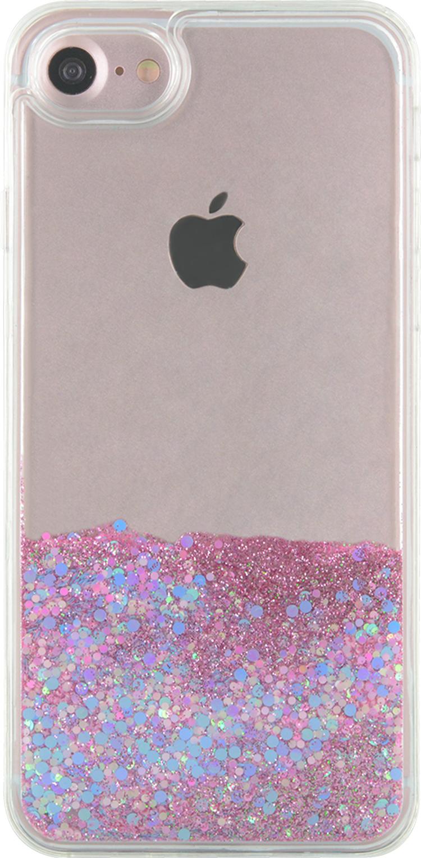Sparkling liquid hard case (pink and blue) - Image