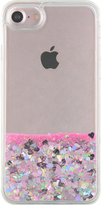 Sparkling liquid hard case (pink) - Image