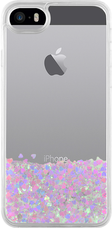 Sparkling liquid hard case (white) - Image