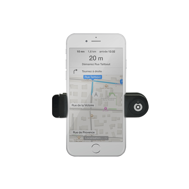 Air vent holder for smartphones (Black) - Image  #2tutu