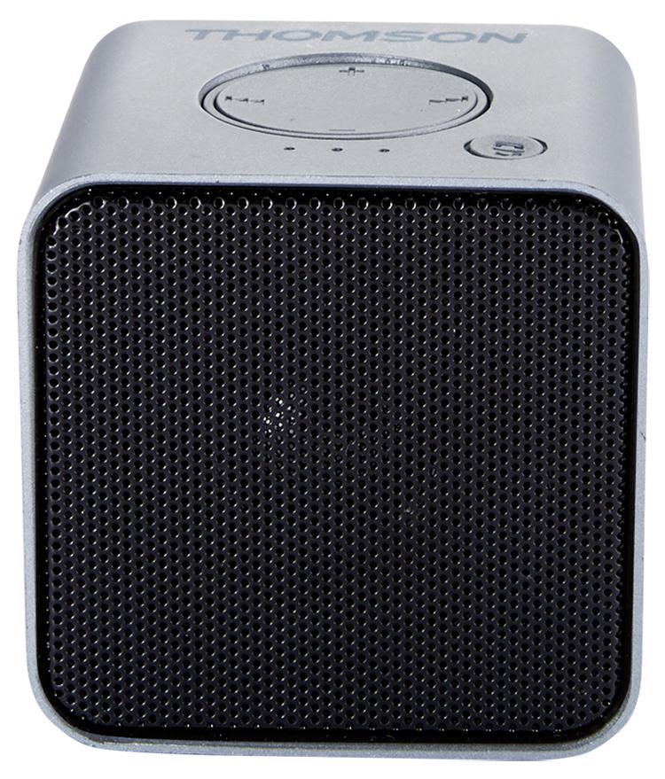 Wireless portable speaker (metallic grey) WS01GM THOMSON - Packshot