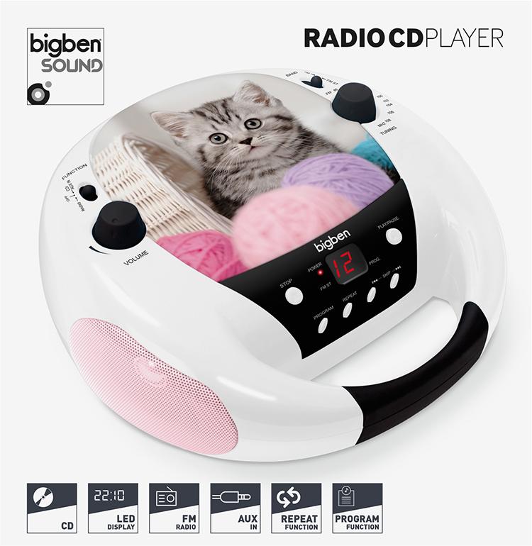 CD player CD52CATS3 BIGBEN - Image  #1
