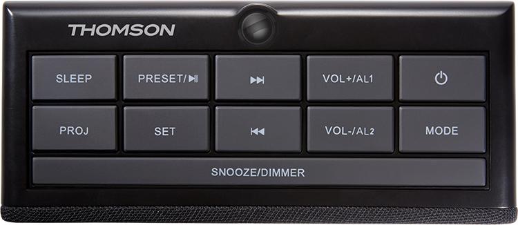 Alarm clock radio with projector CL300P THOMSON - Image  #2tutu