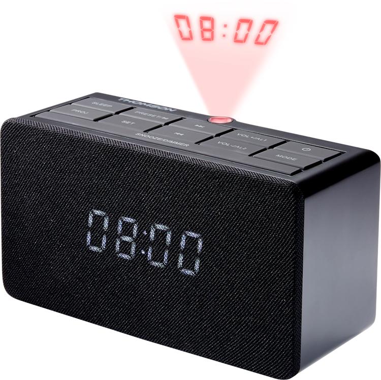 Alarm clock radio with projector CL300P THOMSON - Image  #2tutu#3