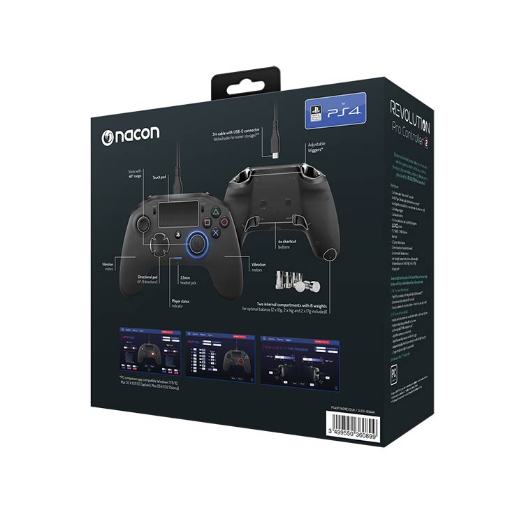 Revolution Pro Controller 2 official licensed for PlayStation® 4 PS4OFPADREV2UK NACON - Image  #2tutu