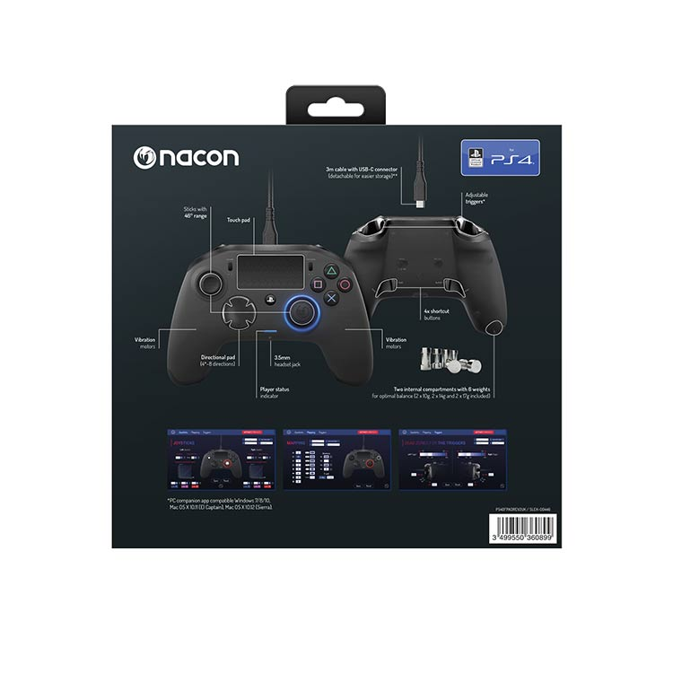Revolution Pro Controller 2 official licensed for PlayStation® 4 PS4OFPADREV2UK NACON - Image  #2tutu#4tutu#5