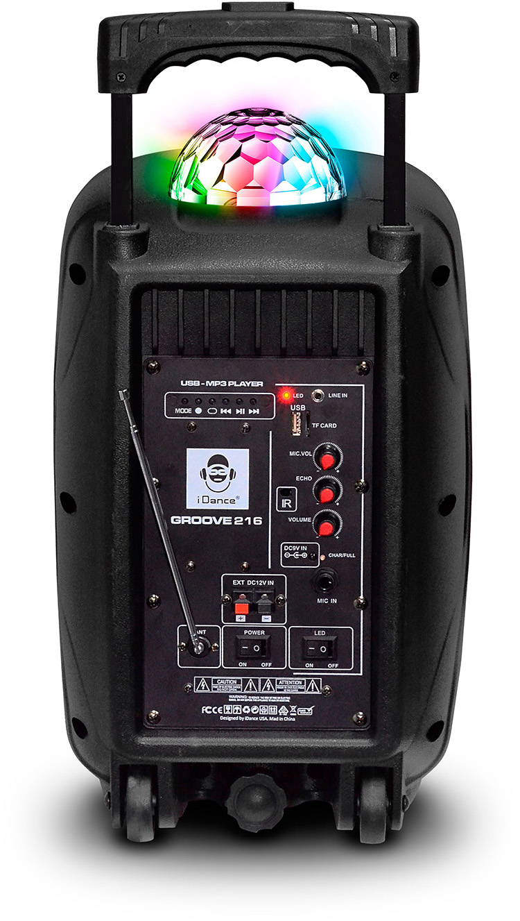Bluetooth sound and light system GROOVE216 I DANCE - Image