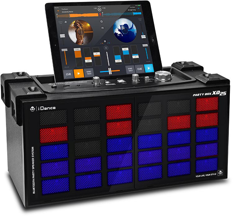 Wireless Bluetooth karaoke system with built-in light show XD25 I DANCE - Image  #1