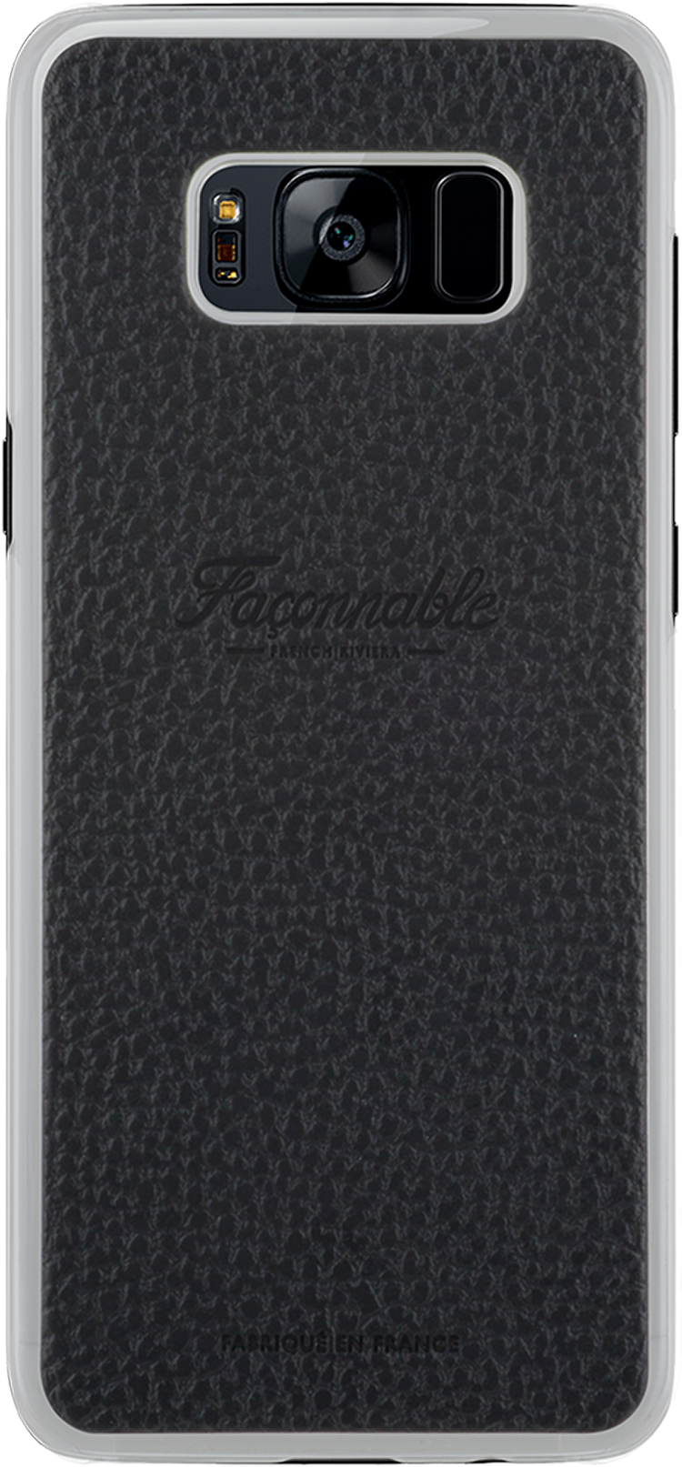 FACONNABLE Hard Case French Riviera (Black) - Packshot