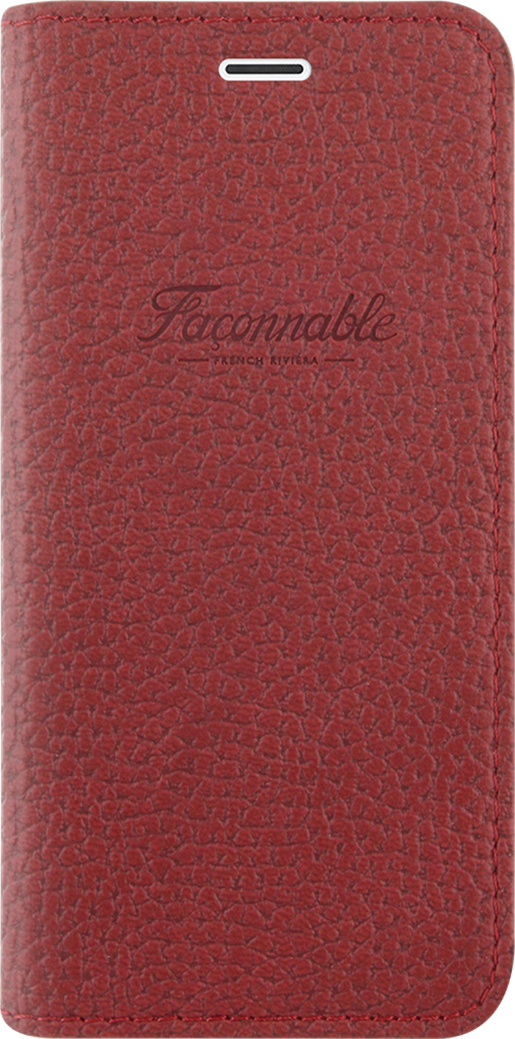 FACONNABLE Flap Case French Riviera (Red) - Packshot