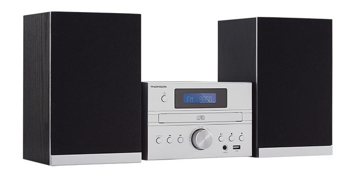 CD/MP3/USB Micro system MIC122BT THOMSON - Image