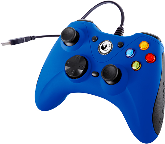 NACON PC Game Controller (Orange) PCGC-100BLUE - Image