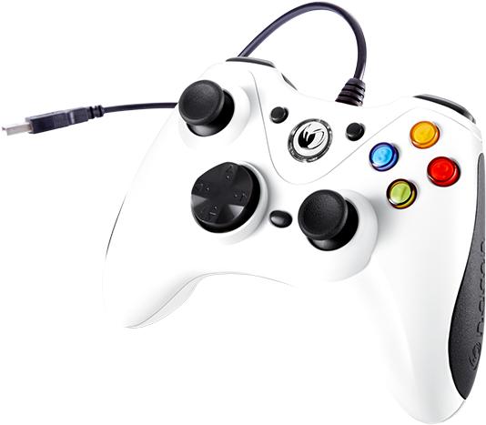 NACON PC Game Controller (Orange) PCGC-100WHITE - Image