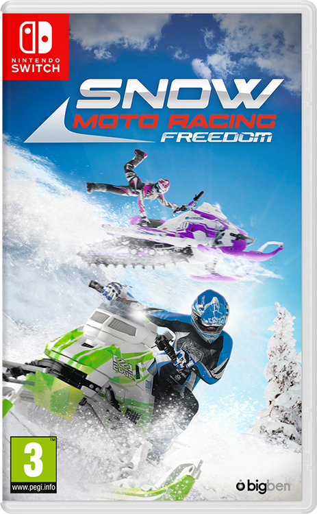 Snow Moto Racing Freedom - Packshot