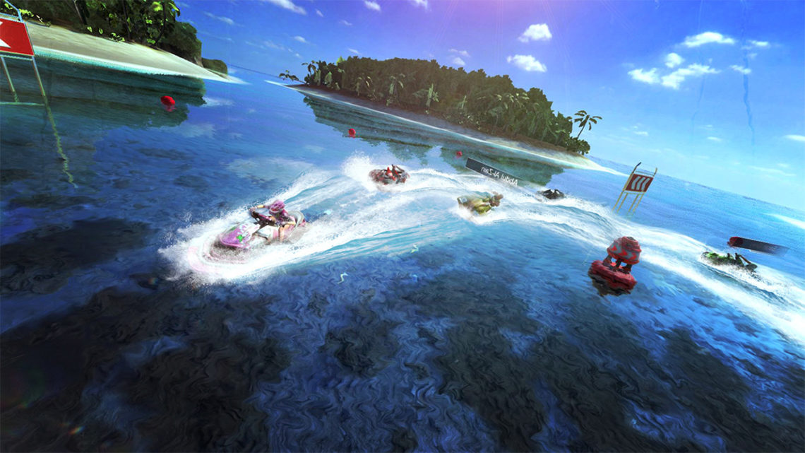 Aqua Moto Racing Utopia - Screenshot#2tutu