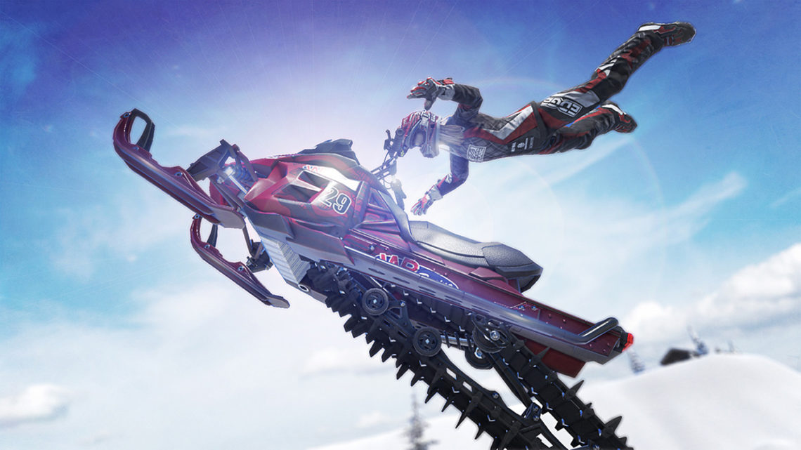 Snow Moto Racing Freedom - Screenshot#1