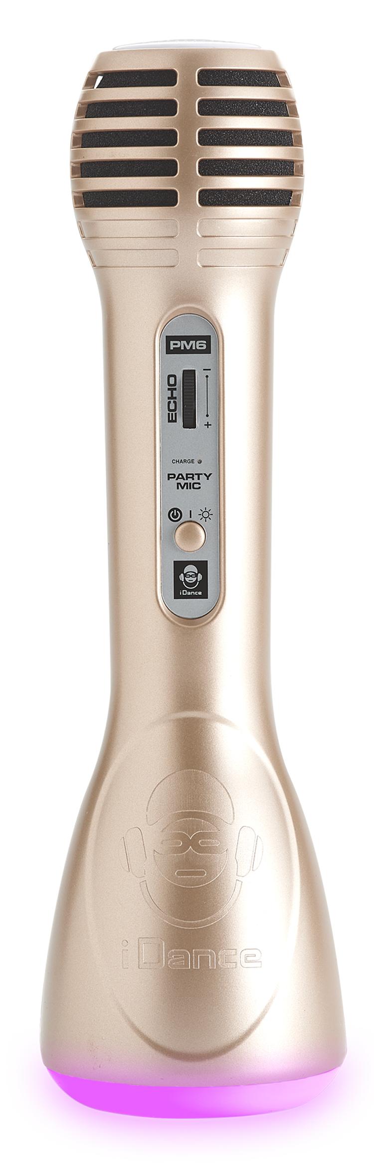Bluetooth® wireless microphone with disco lightning + echo PM6GD i Dance - Packshot
