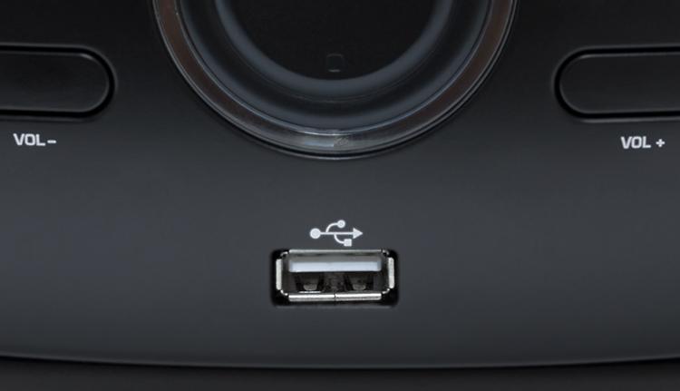 Portable CD/USB player with light effects CD61NUSB BIGBEN - Image  #2tutu#4tutu