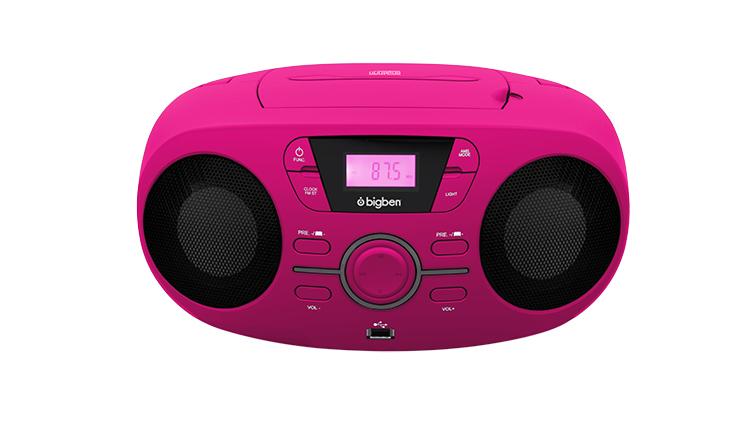 Portable CD/USB player with light effects CD61RUSB BIGBEN - Image  #2tutu