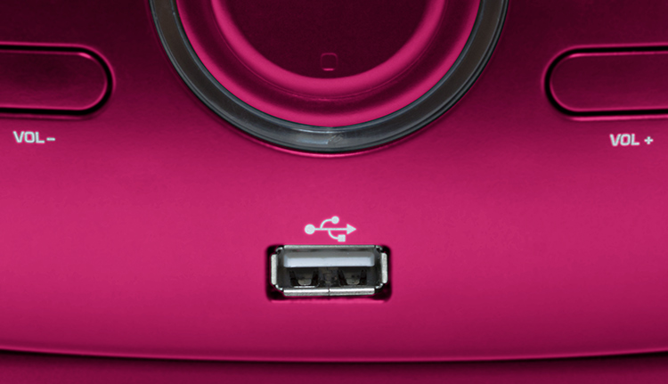 Portable CD/USB player with light effects CD61RUSB BIGBEN - Image  #2tutu#4tutu