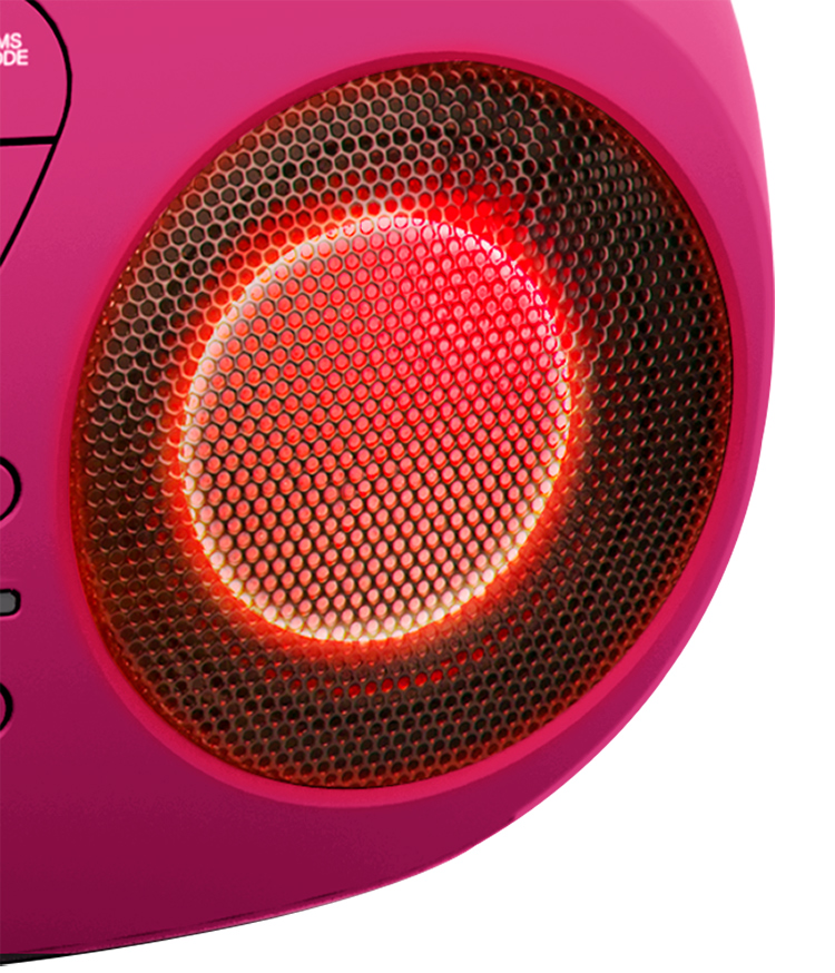 Portable CD/USB player with light effects CD61RUSB BIGBEN - Image  #2tutu#4tutu#6tutu