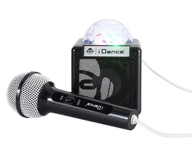 Bluetooth party speaker with disco light CUBESING100BK I DANCE - Packshot