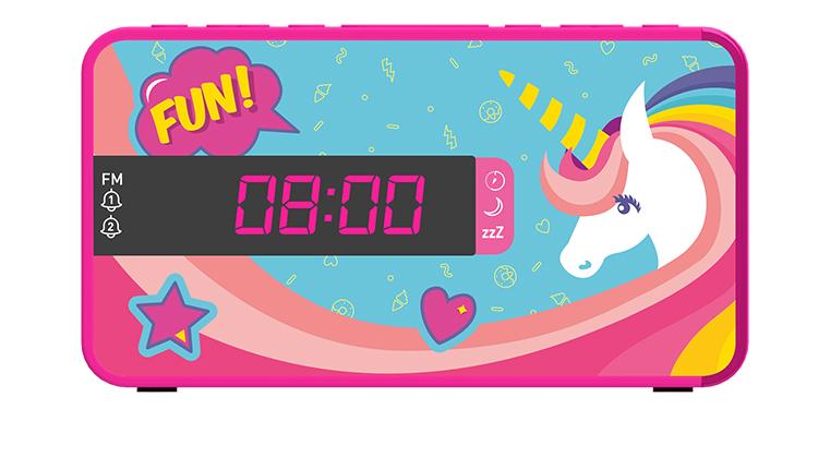 Dual alarm clock RR16UNICORN2 BIGBEN KIDS - Image