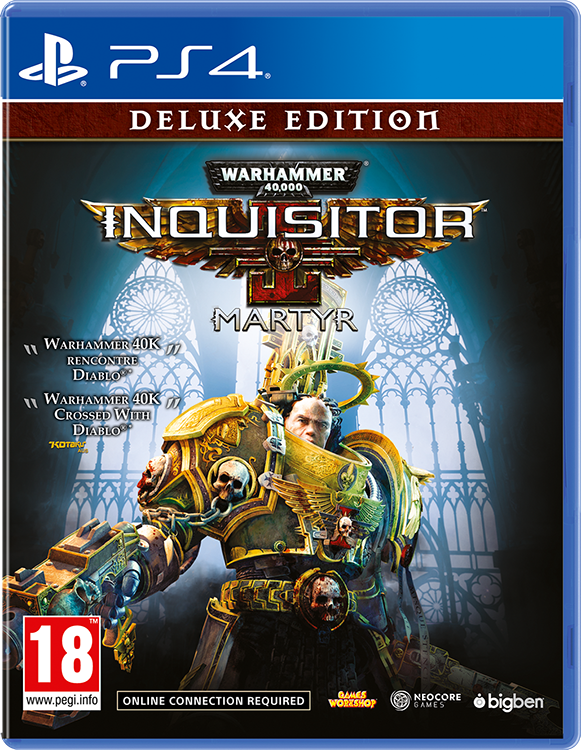 Warhammer 40,000: Inquisitor – Martyr – Deluxe Edition - Packshot#1
