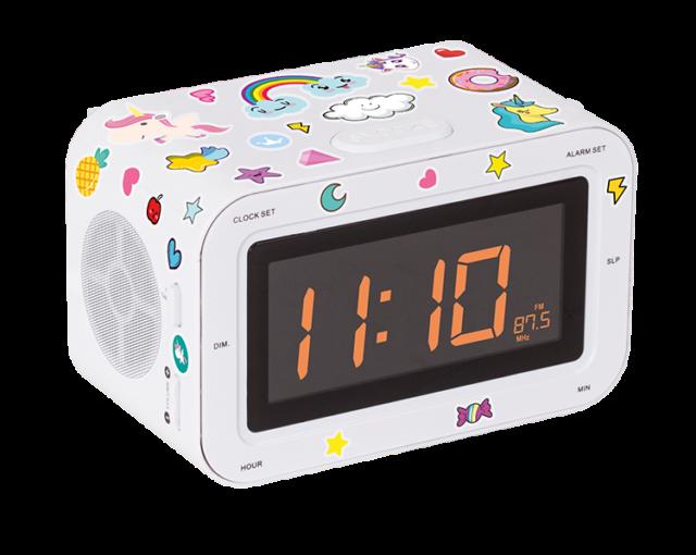 Dual radio alarm clock RR30BCUNICORNSTICK BIGBEN KIDS - Packshot