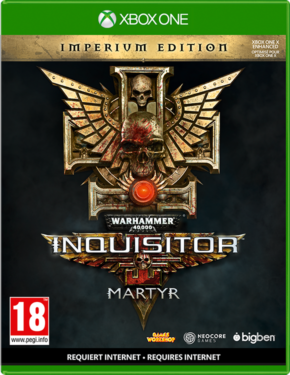 Warhammer 40,000: Inquisitor – Martyr Imperium Edition - Packshot