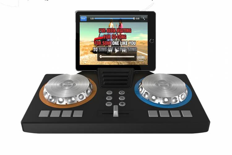Portable karaoké/Deejay 3-in1 party station XD101 I DANCE - Packshot