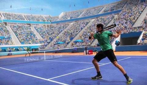 Tennis World Tour Legends Edition - Screenshot