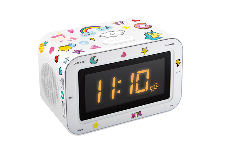 Dual radio alarm clock RR30BCUNICORNSTICK BIGBEN KIDS - Image  #2tutu