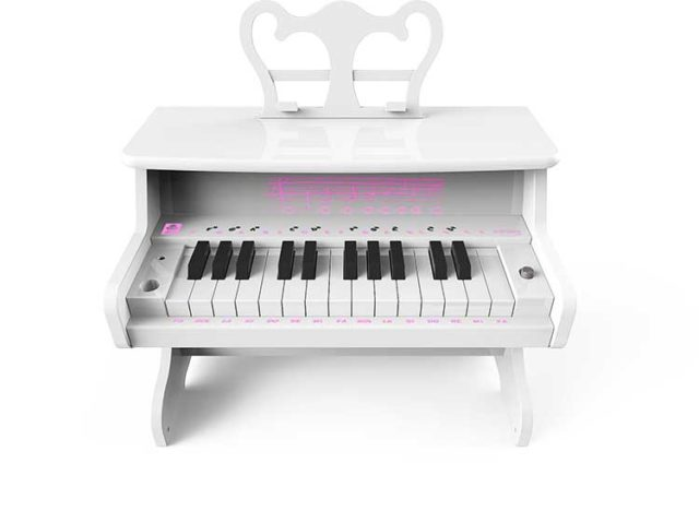 Portable mini piano with Bluetooth MYPIANO1000WH I DANCE - Packshot