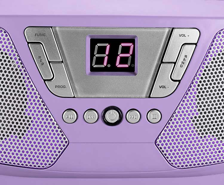 Portable radio/CD player CD60UNICORNSTICK BIGBEN - Image  #2tutu#3