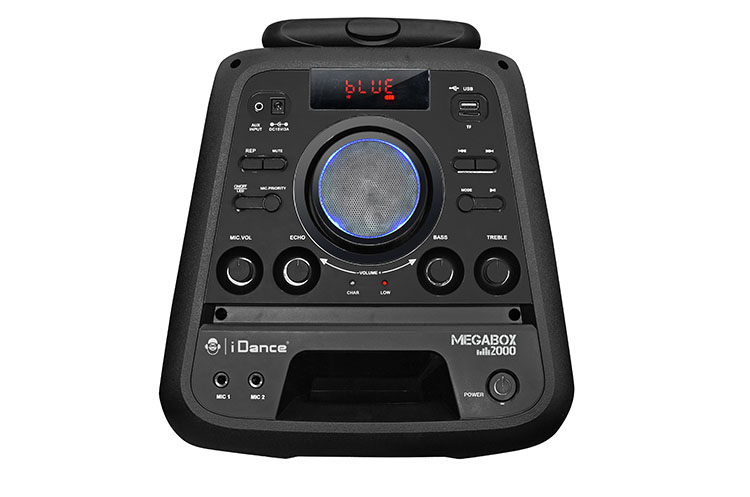 Bluetooth party system MEGABOX2000 I DANCE - Image  #1