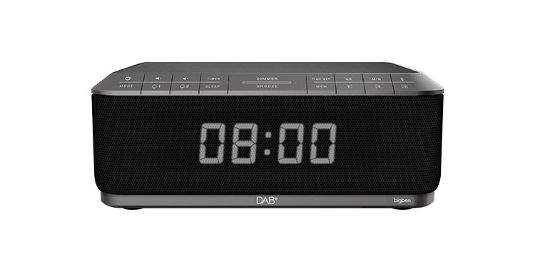 Clock radio with wireless charger/DAB+ RR140IGDAB BIGBEN - Packshot