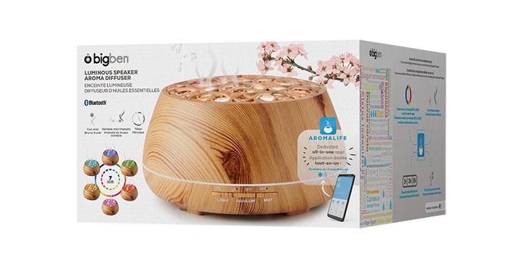 Luminous speaker aroma diffuser BTA01 BIGBEN - Image  #2tutu#4tutu#6tutu#8tutu#10tutu#12tutu#13