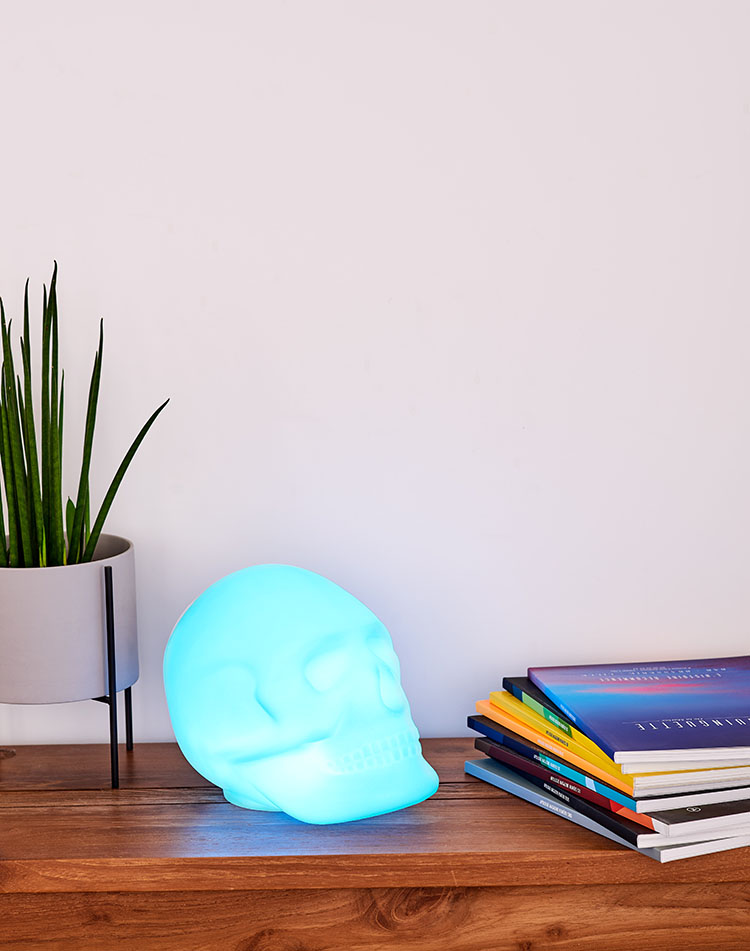Wireless luminous speaker BTLSSKULL BIGBEN - Image  #2tutu#4tutu#6tutu#8tutu#9