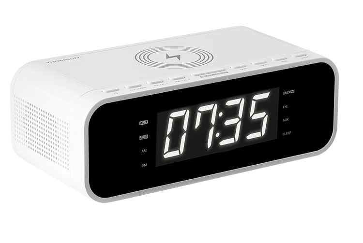 Clock radio with wireless charger CR221I THOMSON - Image  #1