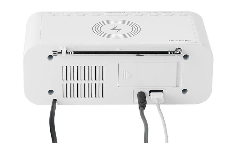 Clock radio with wireless charger CR221I THOMSON - Image  #2tutu#4tutu#5