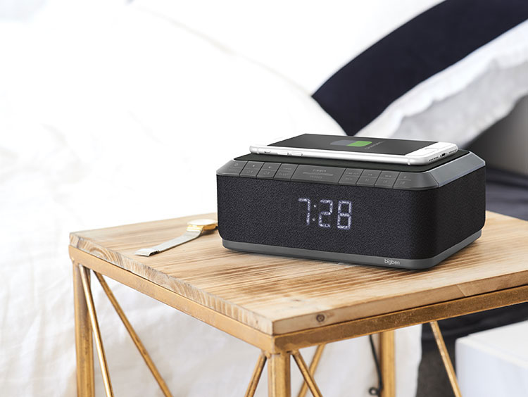 Clock radio with wireless charger/DAB+ RR140IGDAB BIGBEN - Image  #2tutu#4tutu