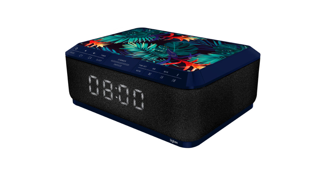 Clock radio with wireless charger RR140IJUNGLE BIGBEN - Image  #2tutu#3