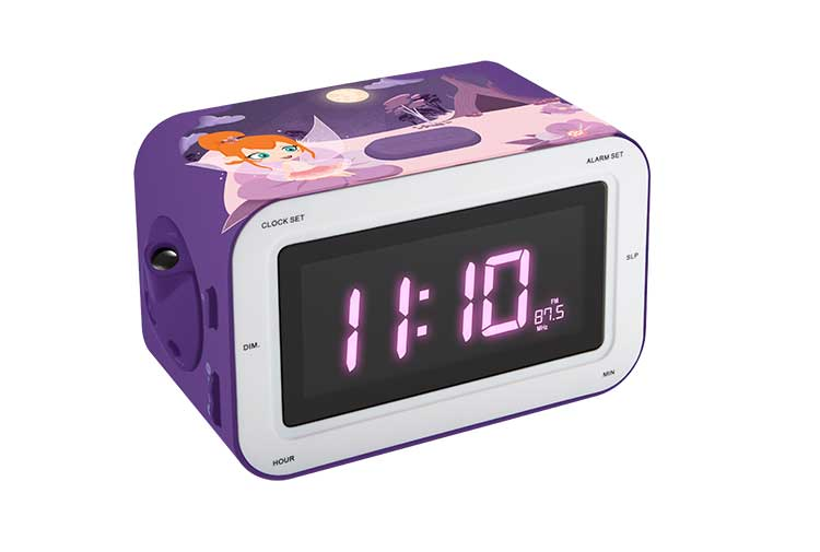 Radio Alarm clock with projection RR30PFAIRY4 BIGBEN KIDS - Image