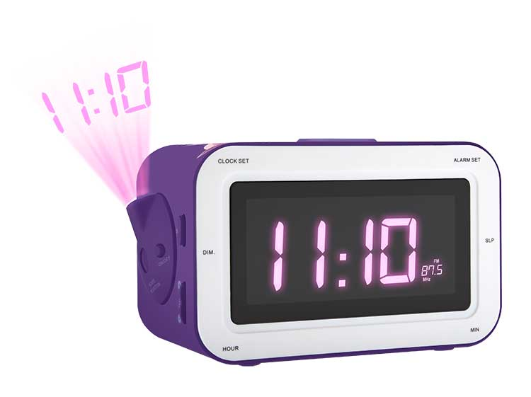 Radio Alarm clock with projection RR30PFAIRY4 BIGBEN KIDS - Image  #1