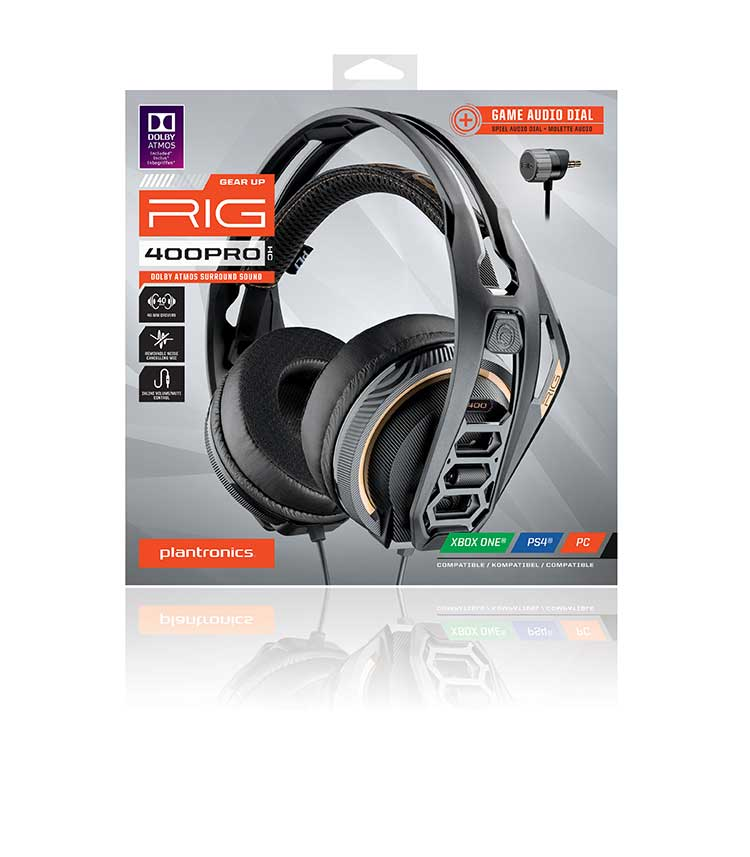 PLANTRONICS surround-ready gaming headset for console RIG 400PRO HC - Image  #2tutu