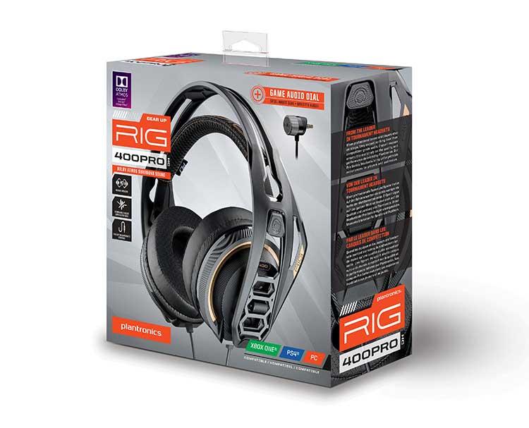 PLANTRONICS surround-ready gaming headset for console RIG 400PRO HC - Image  #2tutu#3