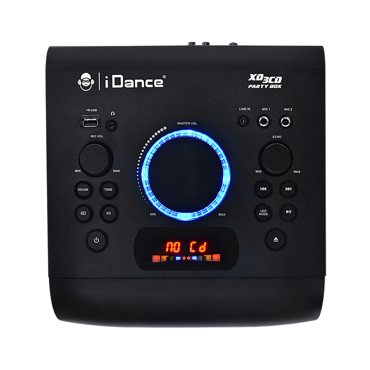 All-in-one bluetooth system + CD player XD3CD I DANCE - Image  #2tutu#3