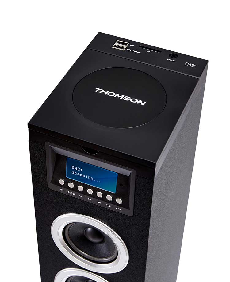 Multimedia tower/CD player DS120DABCD THOMSON - Image  #1