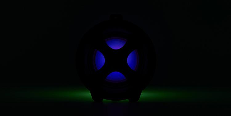 Lightning speaker bluetooth® CYCLONE401BK I DANCE - Image  #2tutu#4tutu